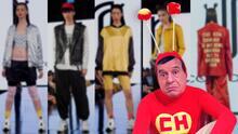 No contaban con su astucia: El Chapulín Colorado pisa fuerte en el New York Fashion Week