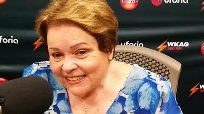 Aida Díaz evalúa el inicio de clases en Puerto Rico