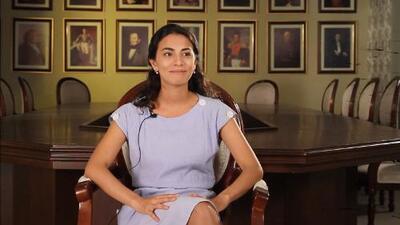 Laura Junco interpreta a 'Carmelita', la esposa de 'El Rayo'