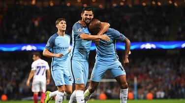 Manchester City selló su  pase a fase de grupos de la Champions tras vencer al Steaua