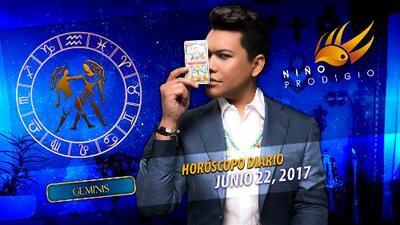 Niño Prodigio - Géminis 22 de junio 2017
