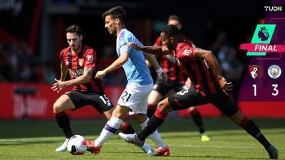 Triunfo del Manchester City en el partido 400 de David Silva