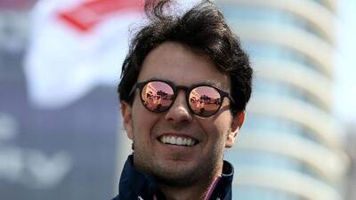 'Checo' Pérez, con actualizaciones para el GP de España