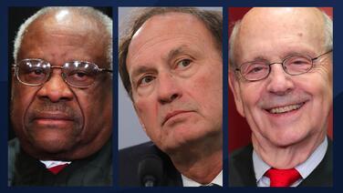 Tres jueces de la Corte Suprema no asistieron a la investidura del presidente Joe Biden
