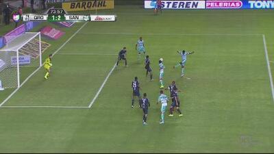 Djaniny Tavares hace un golazo de bolea en el Querétaro vs Santos