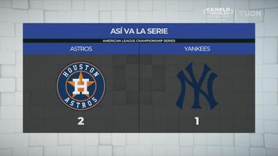 Posponen el Juego 4 del Yankees vs Astros