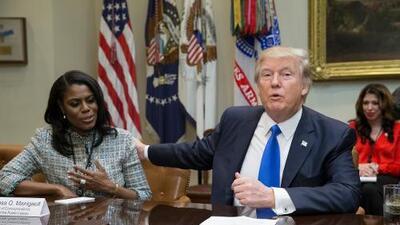 """""""Perra"""" y """"escoria"""": los insultos de Donald Trump a Omarosa Manigault tras revelar nueva grabación"""