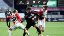 Erick Gutiérrez, clave para el triunfo del PSV ante el Emmen