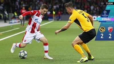 Estrella Roja saca un empate valioso de Suiza