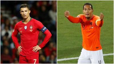 Así formarían Portugal y Holanda para la Final de la Nations League