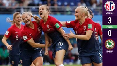 Noruega demuestra su contundencia ante Nigeria en el Mundial femenino