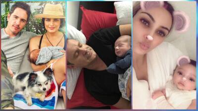 Ya van 6: estos son los bebés famosos (ooohhhh) que han nacido en 2018 👶