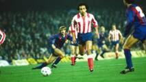 Recordamos con números el paso de Hugo Sánchez con el Atlético de Madrid