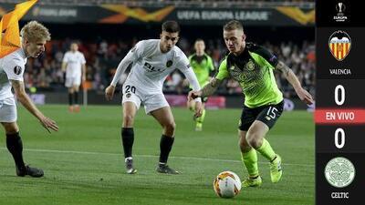 EN VIVO | Valencia no se conforma y busca ampliar su ventaja global ante Celtic