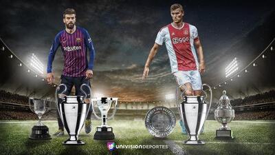 Un sueño posible: Barcelona y Ajax contienden por el Triplete europeo