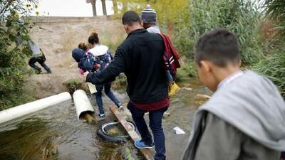 Padre e hija salvadoreños que intentaban cruzar el Río Bravo mueren ahogados