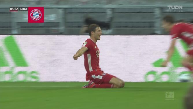 ¡Huele a campeón! Goretzka aparece en los últimos minutos y consigue el 2-1 para el Bayern