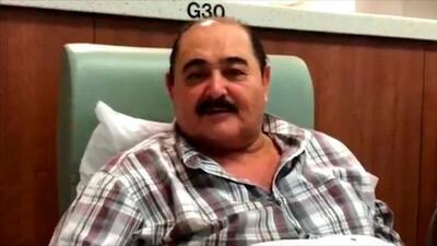 Don Heraclio García de Los Huracanes del Norte lucha contra tumor canceroso