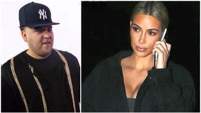 """""""Él tiene hermanas... debió controlarse"""": Kim Kardashian condena la venganza de su hermano Rob"""
