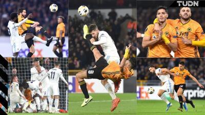 Raúl Jiménez da la victoria al Wolverhampton y tienen vida en la Europa League