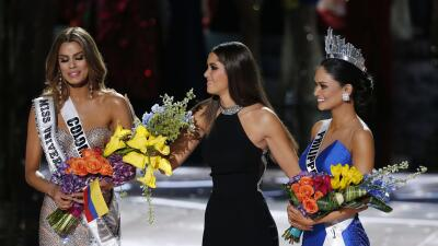 Miss Universe mistakenly crowns Colombia before Philippines