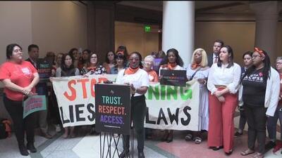 Mujeres reviven sus historias de abortos para protestar en contra de la propuesta HB16