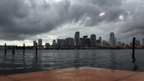 Miami tendrá una noche nublada con posibilidad de lluvias
