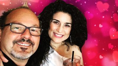 Karina puso en pausa su divorcio para ser novia del que es su esposo hace 20 años