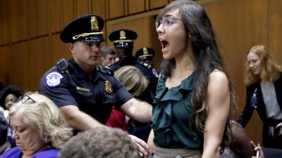 Fotos: Tensión y protestas en la audiencia de confirmación de Brett Kavanaugh