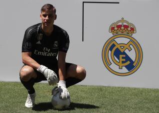 Quién es Andriy Lunin, el nuevo arquero de Real Madrid... que no es Thibaut Courtois