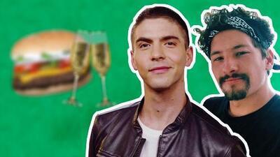 Johann Vera y Mau Montaner terminaron con hamburguesas y champaña su noche de Premios Juventud