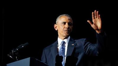 El discurso íntegro de despedida de Barack Obama como presidente (en inglés)