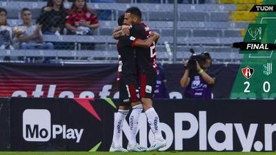 Atlas mantiene cerrada lucha en la Copa MX