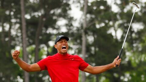 El regreso de Tiger Woods a la cima del golf, 11 años después