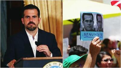 Exigen renuncia del gobernador de Puerto Rico, Ricardo Roselló, tras escándalos en su administración