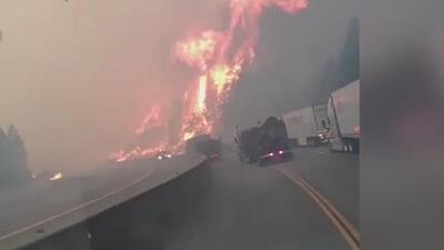 El incendio 'Delta' ha arrasado con 15,000 acres en el condado Shasta