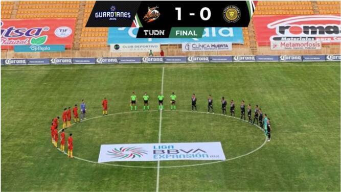 ¡Resumen! Gol agónico le dio la victoria 1-0 a Alebrijes sobre Leones Negros