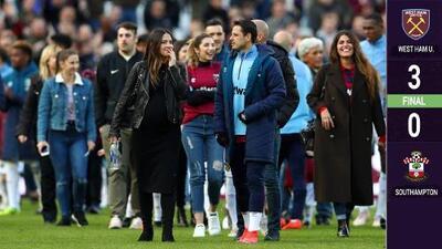 Con Chicharito en la banca, West Ham venció a Southampton