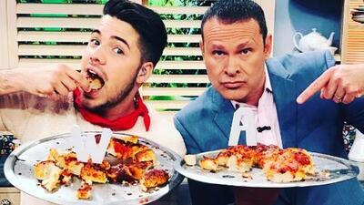 Alan Tacher y William Valdes prepararon pizza, ¡pero uno de ellos hizo trampa!