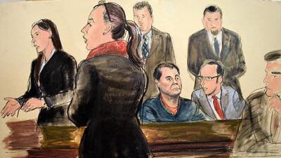 'El Chapo' no firma documento relacionado con su extradición