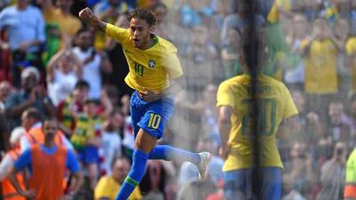 ¡Tiembla Rusia!, Neymar está de vuelta y en plan goleador con Brasil