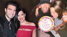 Jencarlos Canela celebra el cumpleaños de Oriana, la hija de su ex Gaby Espino