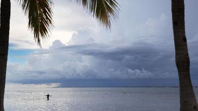 Marejada ciclónica, un efecto del huracán Irma que amenaza la costa sur de Florida