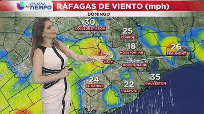 Cielos nublados durante gran parte del día y lluvias en la noche, el pronóstico para este lunes en Houston