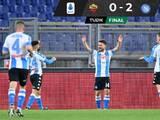 El 'Chucky' Lozano reapareció y el Napoli ganó ante la Roma
