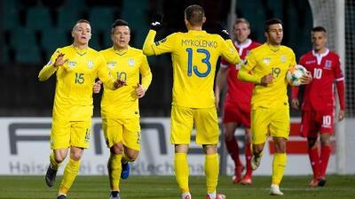 Luxemburgo 1-2 Ucrania - GOLES Y RESUMEN - GRUPO B - ELIMINATORIAS – Eurocopa