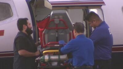 Se espera la llegada de la segunda víctima de la explosión de Tultepec a Galveston