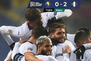 Italia vive su 'Renacimiento' y se mete al Final Four de la Nations League