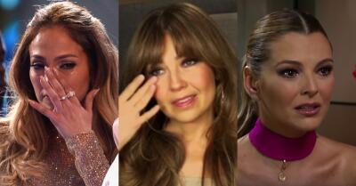 Estos famosos no pueden parar de llorar
