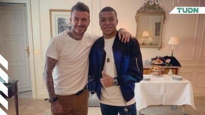 Beckham se convierte en agente y busca representar a Mbappé